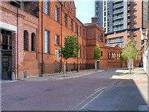 SJ8399 : Mirabel Street, Manchester by David Dixon