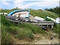 SY6180 : Boat graveyard by Alex McGregor