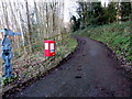 SO8404 : National Cycle Network route 45, Rodborough, Stroud by Jaggery