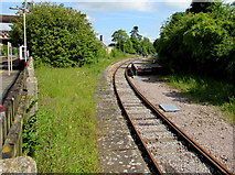 ST9897 : Relic of the Cirencester branch line, Kemble by Jaggery