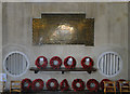TF6841 : The War Memorial in Old Hunstanton church by Adrian S Pye