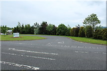 NX9575 : Entrance to Garden Wise, Dumfries by Billy McCrorie