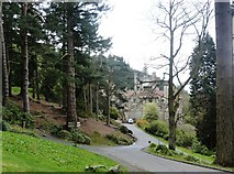 NU0702 : First approach to Cragside House, near Rothbury Northumberland by Derek Voller
