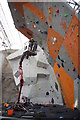 NT1270 : Working on the climbing walls, EICA, Ratho by Mike Pennington