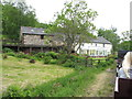 SD0997 : Muncaster Mill seen from the Ravenglass & Eskdale Railway by Gareth James