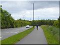 NZ3255 : The C2C alongside Pattinson Road by Oliver Dixon