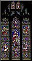 TF0645 : Stained glass window, St Denys' church, Sleaford by Julian P Guffogg