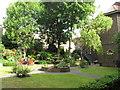 TQ3483 : Garden of St Joseph's Hospice, Hackney by David Hawgood