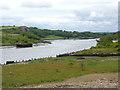 NZ3658 : River Wear above Sunderland by Oliver Dixon