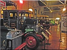SD5422 : Inside the British Commercial Vehicle Museum by Roger Cornfoot