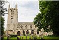 TF0919 : Abbey church of Ss Peter & Paul, Bourne by Julian P Guffogg