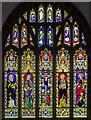 TF0919 : East window, Ss Peter and Paul church, Bourne by Julian P Guffogg