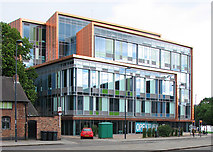 SK3436 : Derby: 1 Friar Gate Square by John Sutton