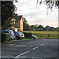 SK3034 : Mickleover: Howden Close on a midsummer evening by John Sutton