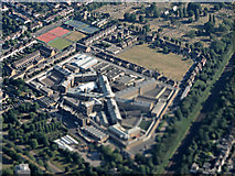 TQ2673 : HM Prison Wandsworth from the air by Thomas Nugent