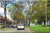 SP4441 : Ruscote Avenue in Banbury by Steve Daniels