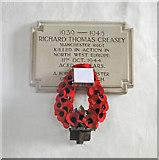 TM1551 : Henley (Suffolk) WW2 War Memorial by Adrian S Pye