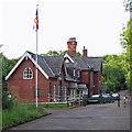 SK3035 : Mickleover: the former Great Northern Railway station building by John Sutton