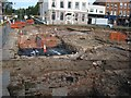 SO8554 : Archaeology dig, Worcester by Philip Halling