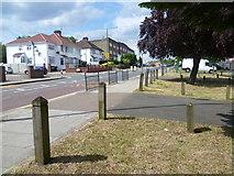 TQ2087 : Church Lane, Kingsbury by Marathon
