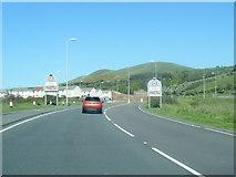 NX1896 : A77 nears Girvan boundary by Colin Pyle