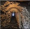 TL7835 : Castle Hedingham: The Norman keep; Storeroom 1 by Michael Garlick