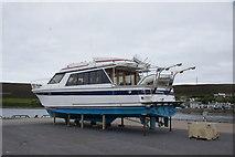 HU4039 : MV Hildasay on Blacks Ness quay, Scalloway by Mike Pennington