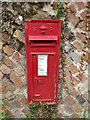 TM0485 : Church Street Victorian Postbox by Adrian Cable