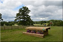 SK2014 : Catton Park Horse Trials: cross-country fence by Jonathan Hutchins