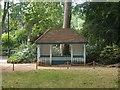 TQ2982 : Shelter, Woburn Square by Jim Osley