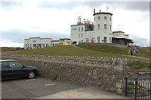 SH7683 : Summit Buildings, Great Orme by Mark Anderson