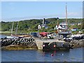 NM6586 : Jetty at Arisaig by Oliver Dixon