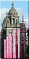 NS5965 : People Make Glasgow banners by Thomas Nugent