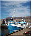 NK1346 : Trawler, Peterhead South Harbour by Bill Harrison