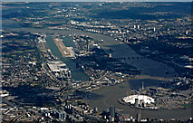 TQ3880 : Docklands from the air by Thomas Nugent