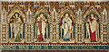 TQ2988 : Christ Church, Crouch End - Reredos detail by John Salmon