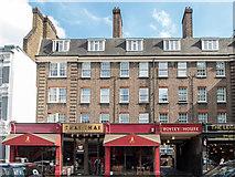 TQ3282 : Shops in Theobalds Road, London, EC1 by Christine Matthews