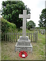 TG4217 : Repps with Bastwick War Memorial by Adrian S Pye