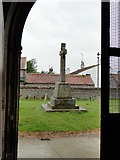 TG4919 : Winterton War Memorial from the south porch of the church by Adrian S Pye