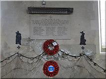 TG4919 : Winterton's Second World War Memorial by Adrian S Pye