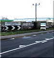 ST1282 : Morganstown boundary sign, Cardiff by Jaggery