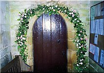 TF0627 : Bridal blessing at Kirkby Underwood, near Bourne, Lincolnshire by Rex Needle