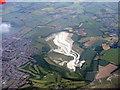 TL0219 : Kensworth Chalk Quarry by M J Richardson