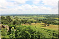 SJ5359 : The view south east from Beeston Castle by Jeff Buck