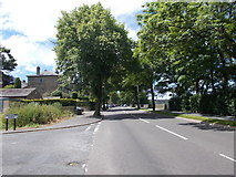 SE0423 : Sowerby New Road - viewed from Beechwood Avenue by Betty Longbottom