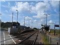 TL0244 : Kempston Hardwick railway station by Bikeboy