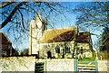 TF0133 : The parish church at Sapperton, near Bourne, Lincolnshire by Rex Needle