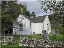 NH4591 : Croick Church by John Ferguson