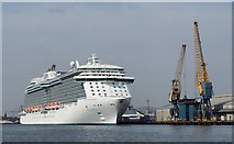 J3576 : The 'Royal Princess' at Belfast by Rossographer