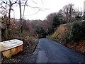 ST1797 : Islwyn grit box, Woodfieldside, Blackwood by Jaggery